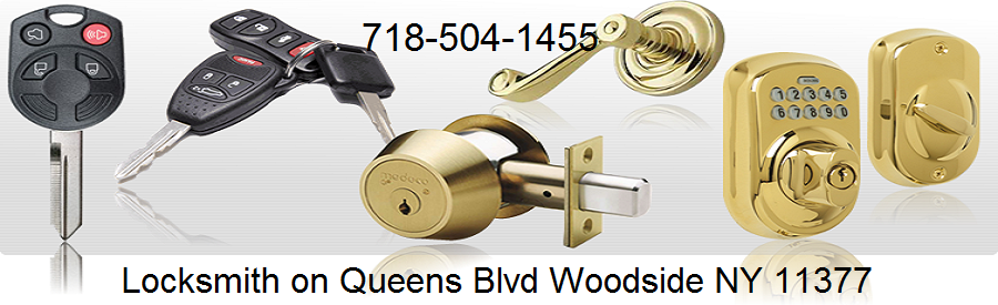 Queens locksmith on Queens Blvd Woodside NY 11377